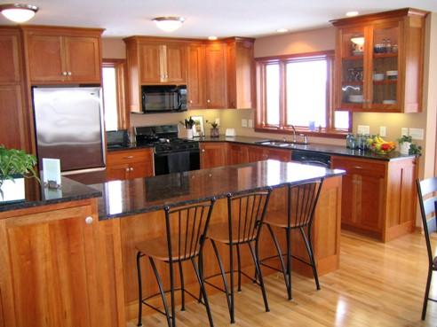 -Custom kitchen design and addition image-