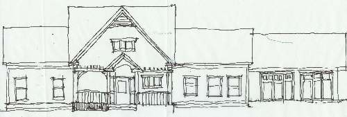 Exterior Elevation Sketch