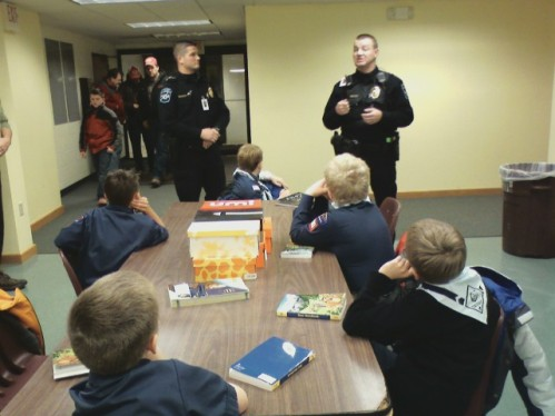 Bear Den with Northfield Peace Officers