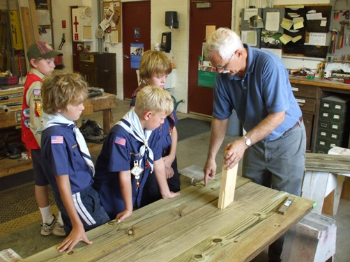 Learning about types of wood