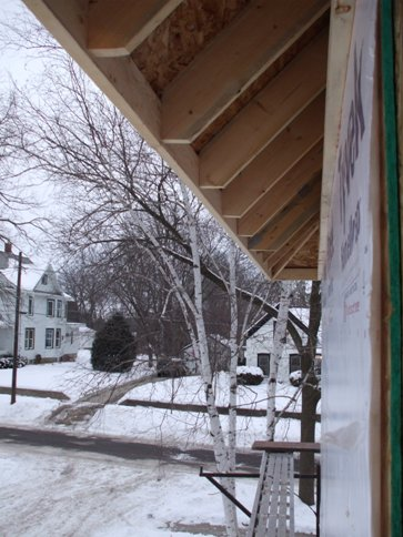 Snow and soffits