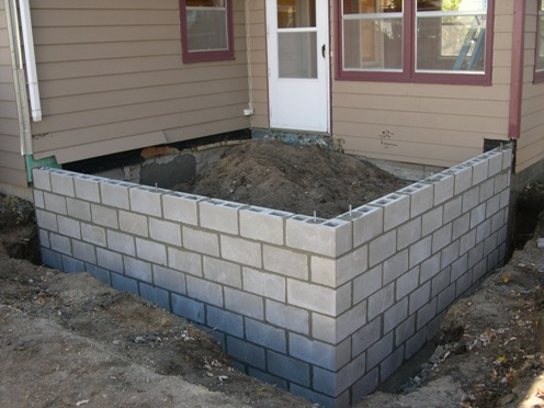 New concrete block