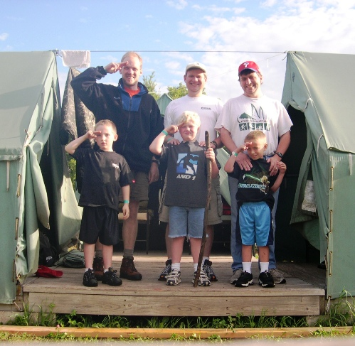 --Cub Scouts at Camp Phillippo