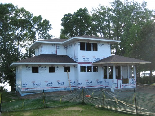 Randolph MN home underway