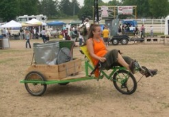 Recumbent Recycling