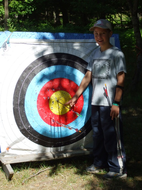 Archery Bull's Eye builds confidence